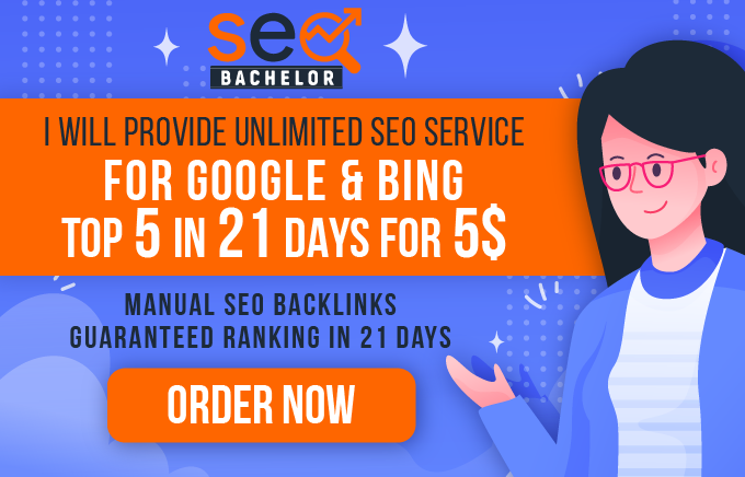 I will do ultimate seo service for page 1 rankings in days