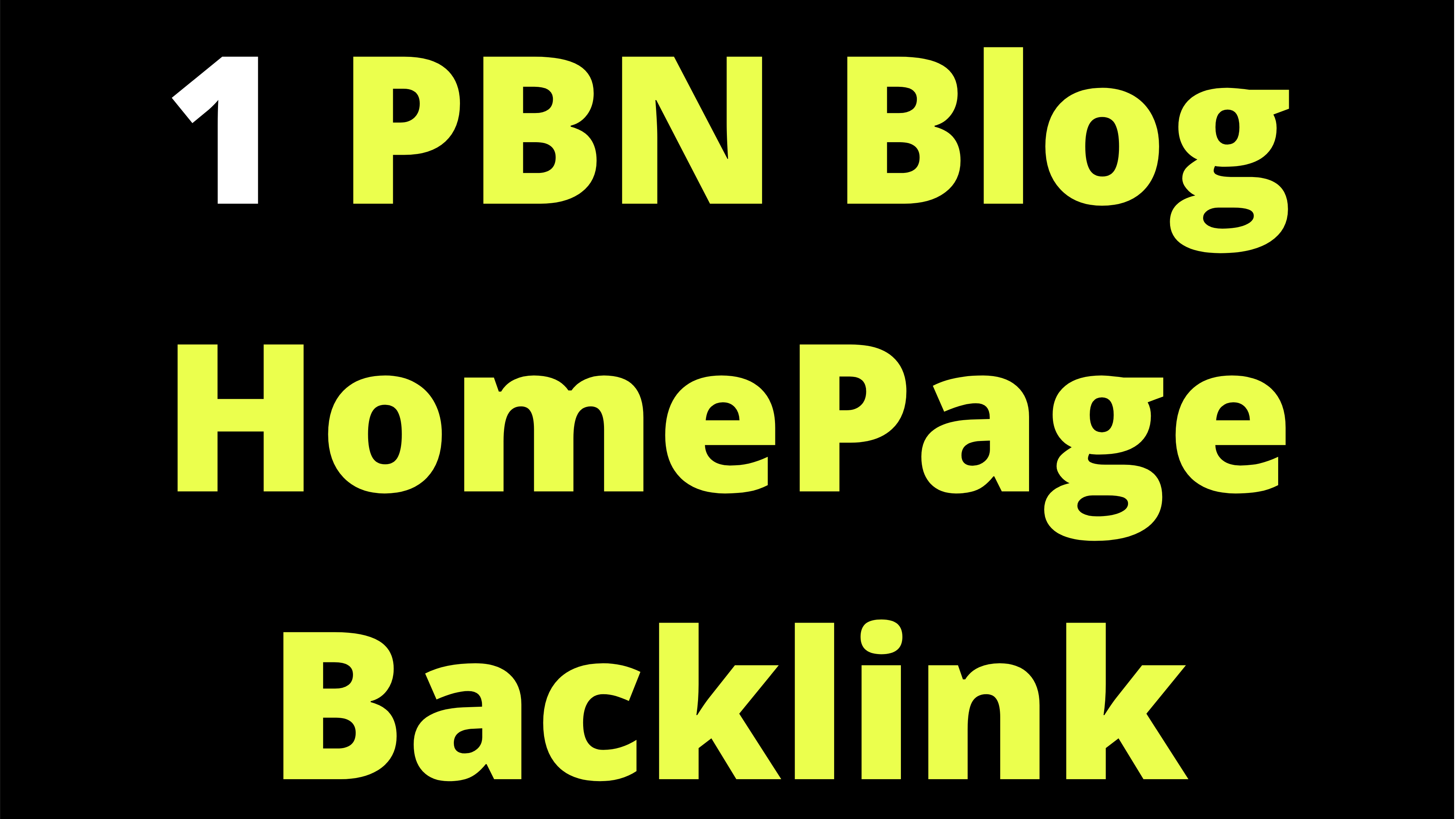 1 PBN Blog Homepage SEO Backlink Limited Time Offer Cheap Backlinks