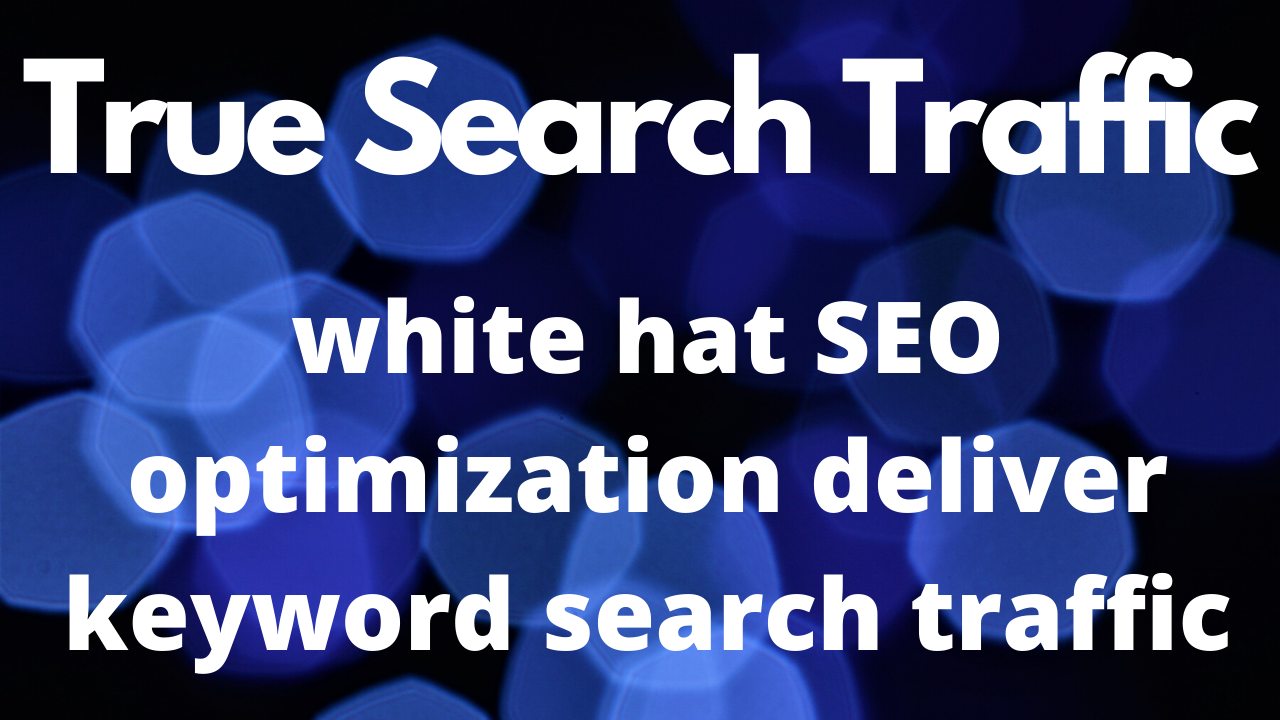 will do white hat seo optimization 30 days Guaranteed Traffic