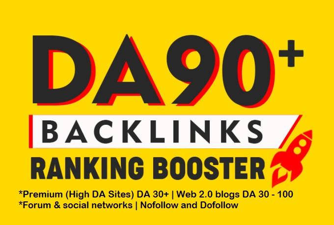 Tiered Contextual SEO Backlinks - DA 30 To 90