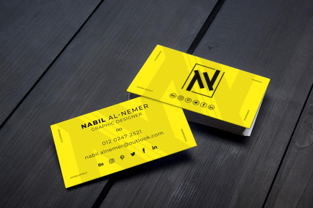 Custom Professional Business Card Design