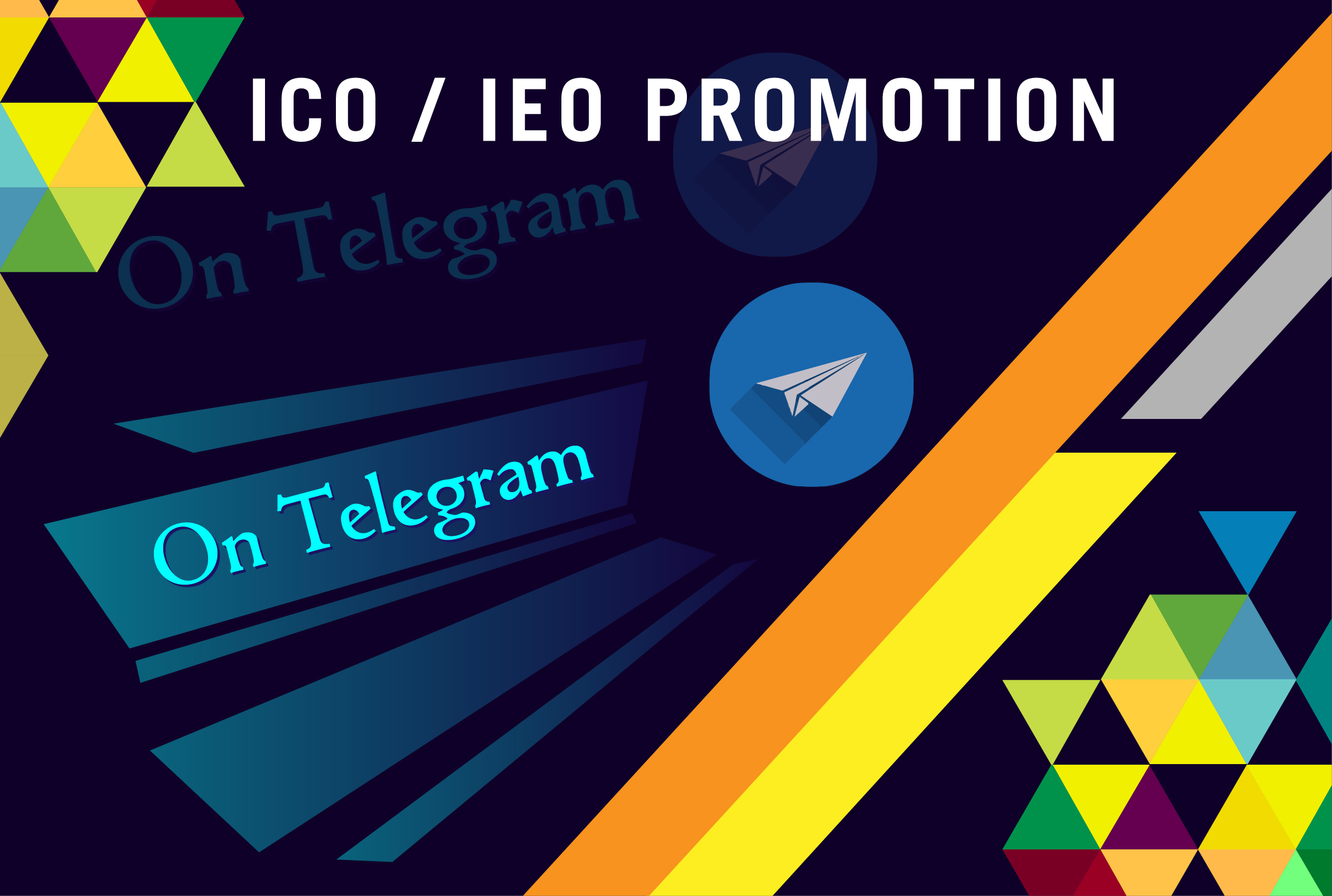 will promote your ico/ieo campaign on different effective platform