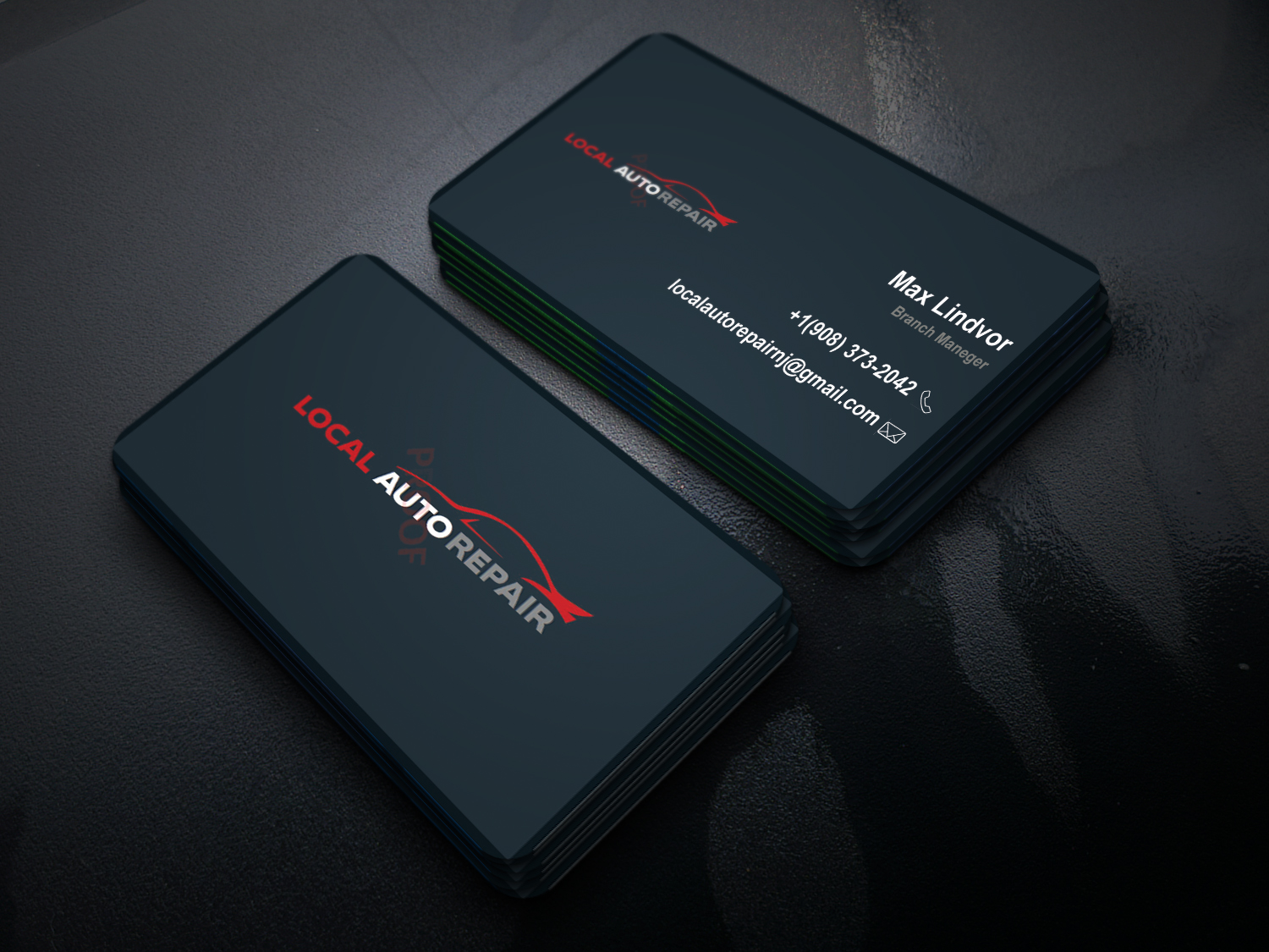 I Will Do Professional,  Minimal and Luxury business Card Design