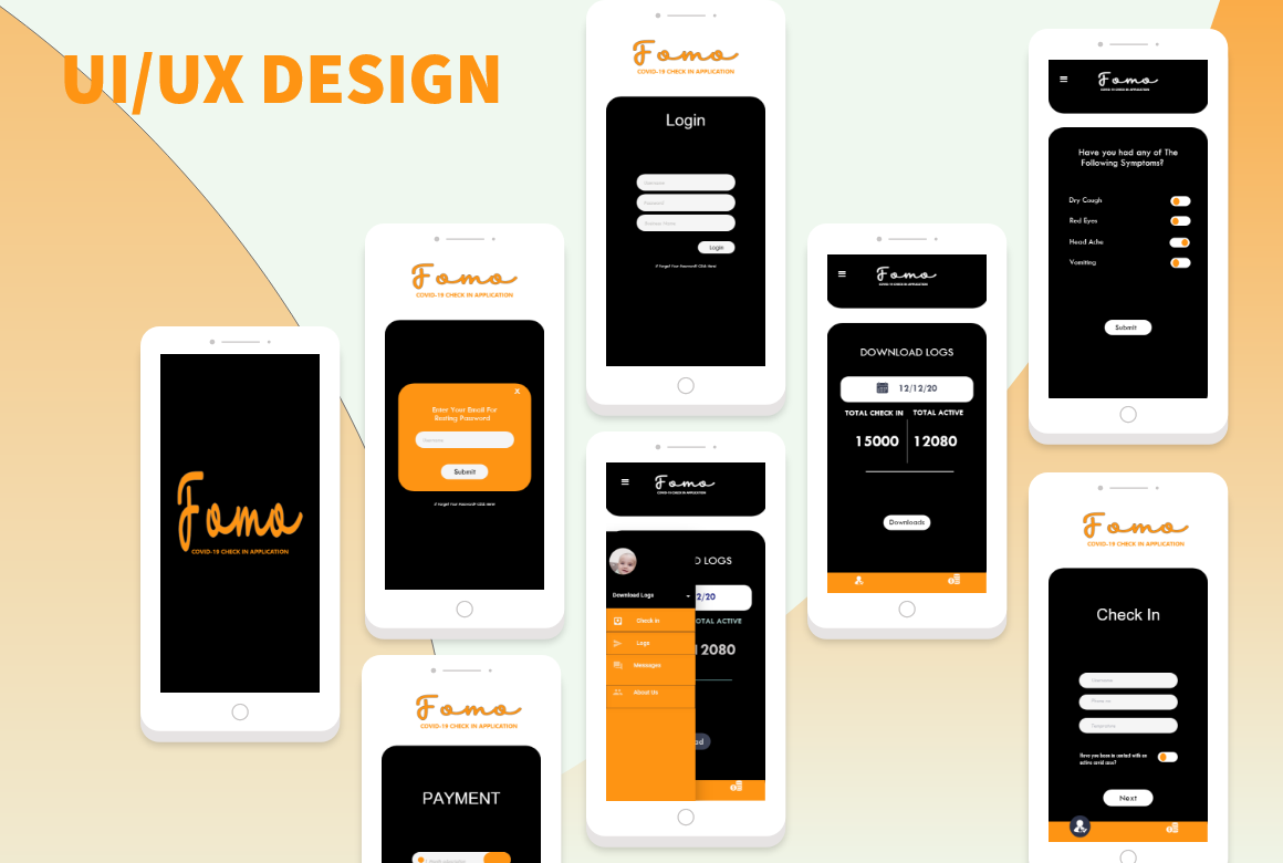 i will design awesome ui or ux design for you Mobile App and web ui