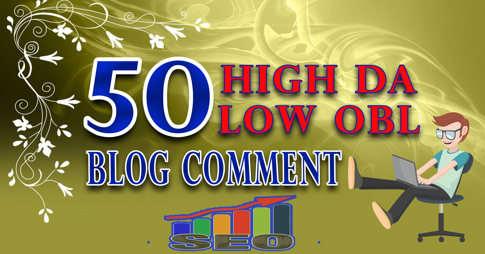 I will do 50 Blogcoments Backlinks dofollow