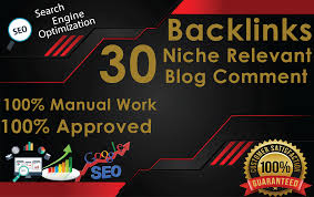 I will do 30 niche relevant backlinks at low obl