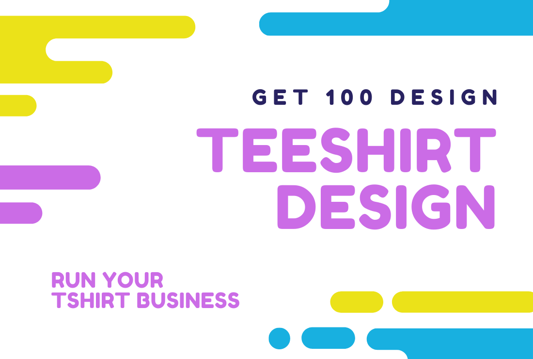 I will create 100 TShirt Designs for your Print-On-Demand Store