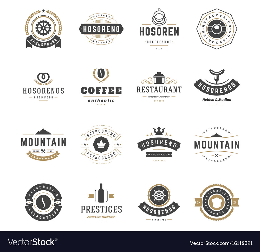 I Will Send 3000 Editable Vintage Logo And Badge Type T-Shirt Design Templates