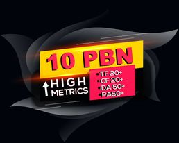 I will provide high authority 10 pbn backlinks