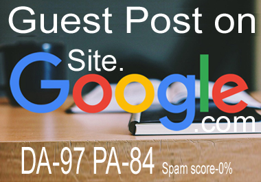 guest post on site. google. com low cost prize