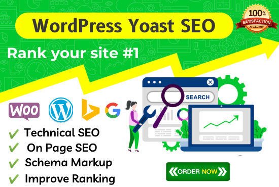 I will do complete yoast seo and technical on page optimization of your wordpress site