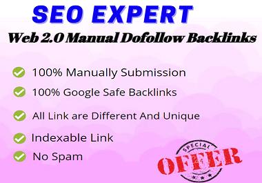I will Create Manually 50 Web 2 0 Backlinks