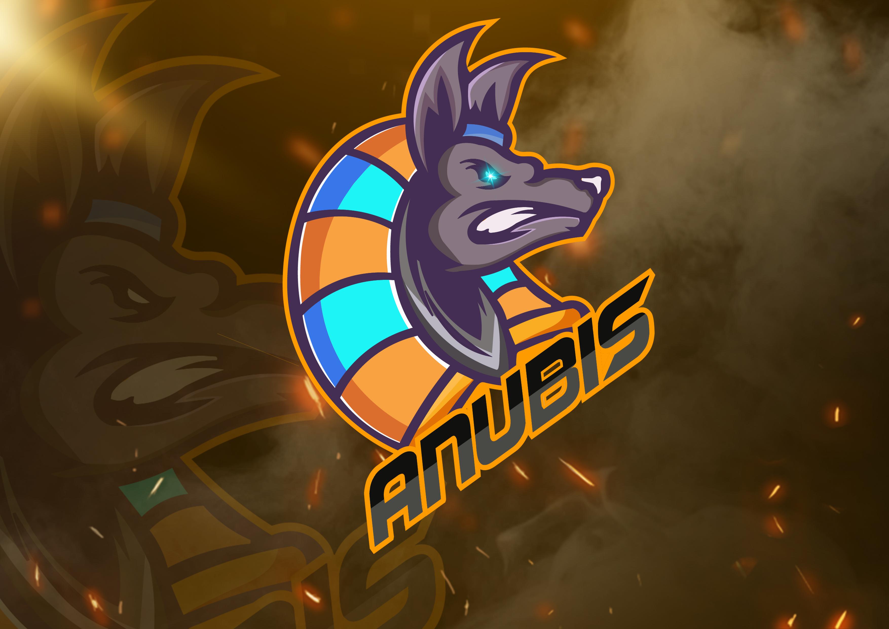 Create professional mascot logo for gaming