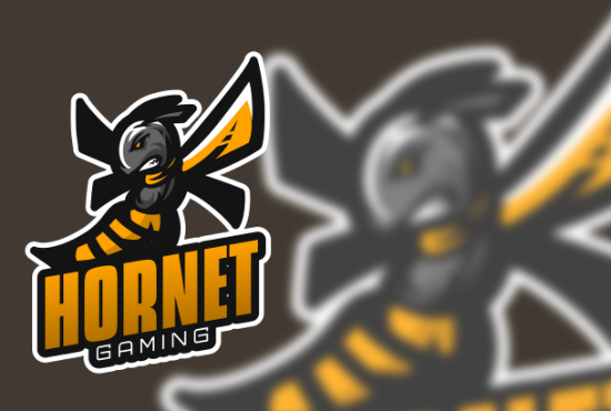 I will design an awesome cartoon or mascot logo for twitch,  esport,  sports