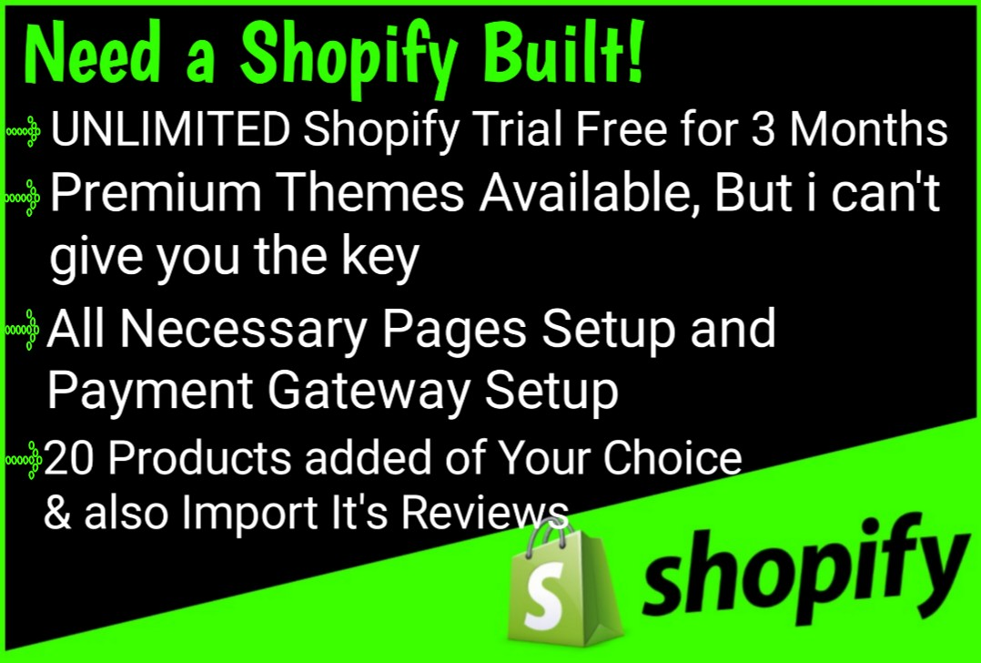 I will develop creative Shopify Dropshipping website or store with responsive design
