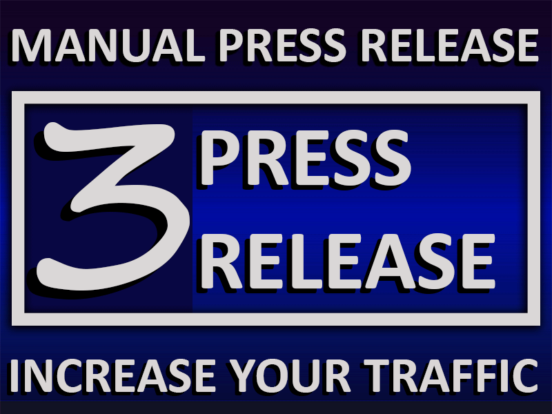 Obtain 3 Press Release to Rank your Website