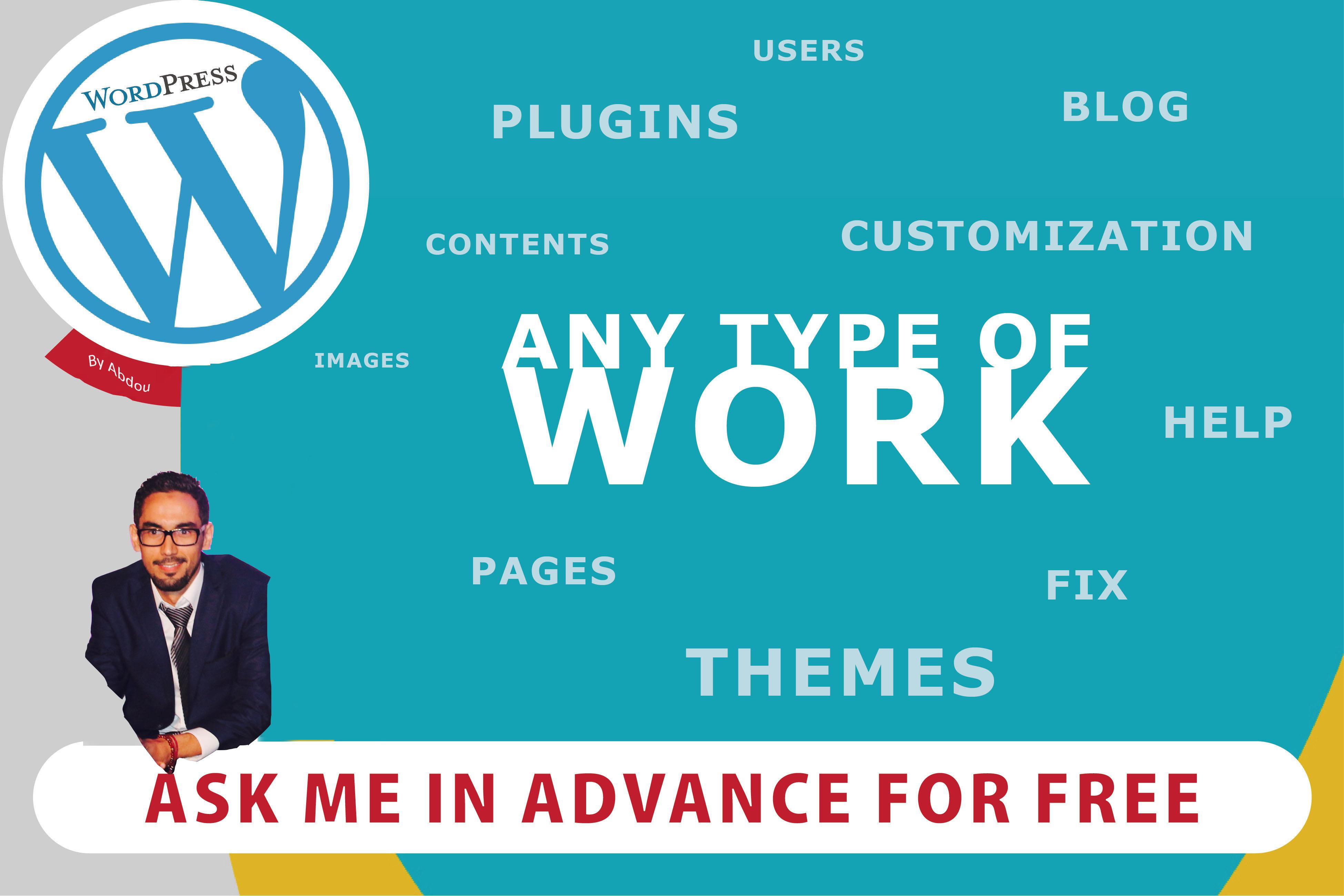 I will build a modern wordpress website design & Custom Design