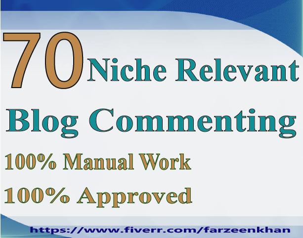 I Will Do 70 Manually High Quality Niche Relevant Backlinks