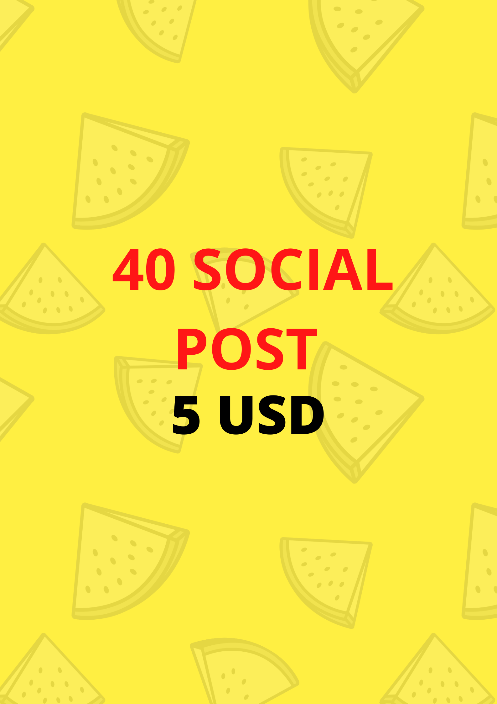 I will do 40 social post for your internet marketing business
