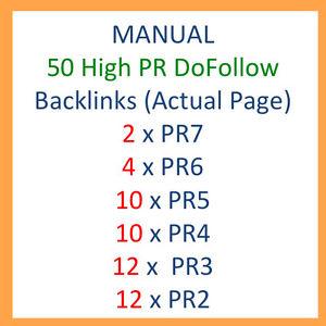 i will Do manually 50 links Dofollow blog comments
