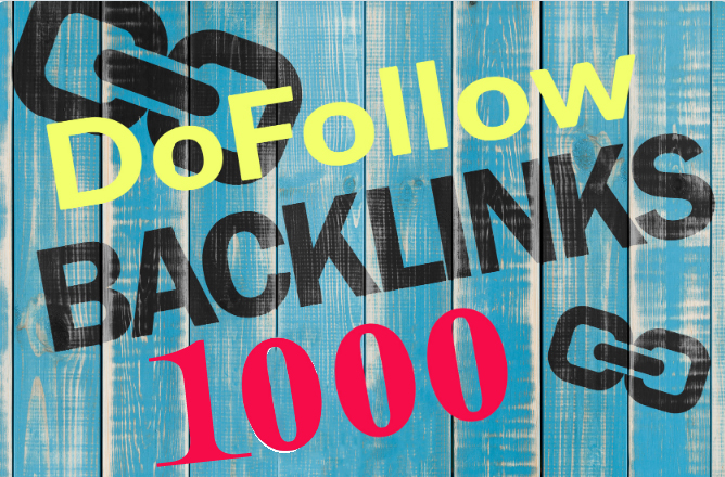 High Quality 1000 PR9 Dofollow backlink rank for google