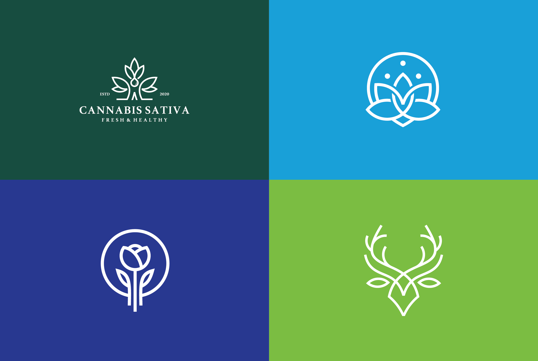 design creative modern and minimalist logo