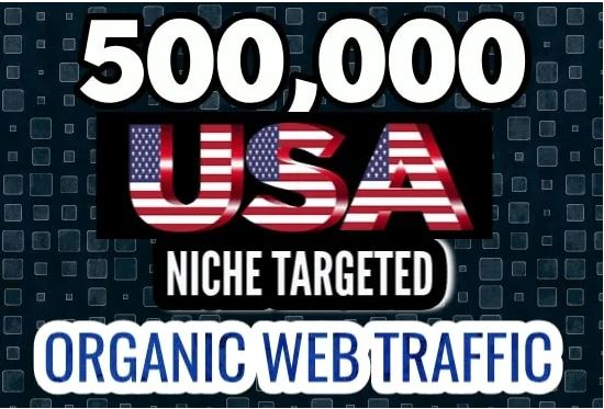 "I WILL BOOST WEB PRESENCE AND SEO RANKING WITH POWERFUL TRAFFIC FLOW TOWARDS ""TARGETED USA VISITORS"""