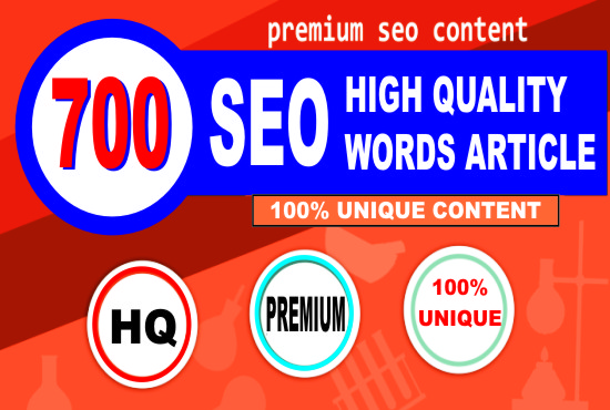 I Will Write 700 Words of Unique SEO Article or Blog in Just 24 Hrs