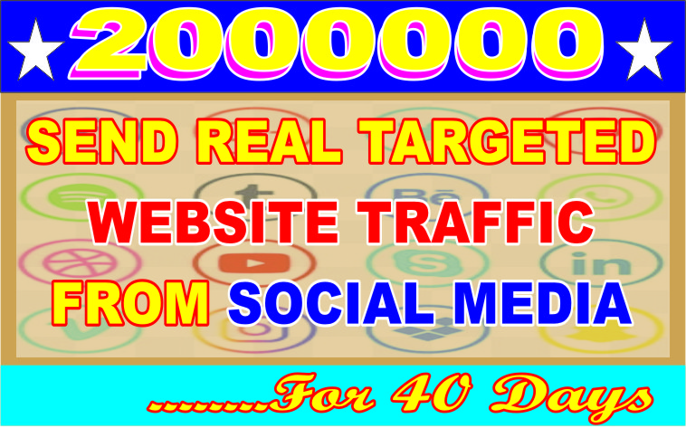 NON-STOP AND TARGETED REAL HUMAN TRAFFIC FOR YOUR WEBSITE,  BLOG AND LINKS