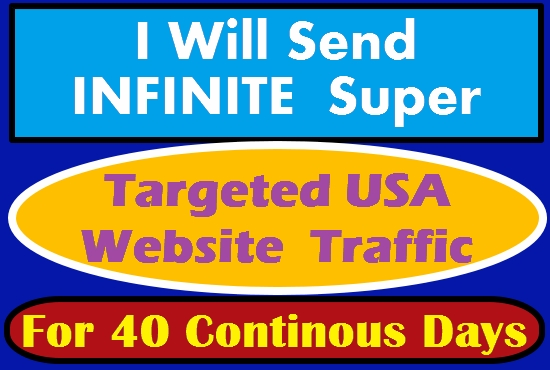 I WILL DRIVE SAFE ORGANIC HUMAN TRAFFIC TO YOUR WEBSITES, BLOGS AND LINKS