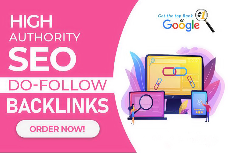I will provide high authority dofollow backlinks for SEO ranking