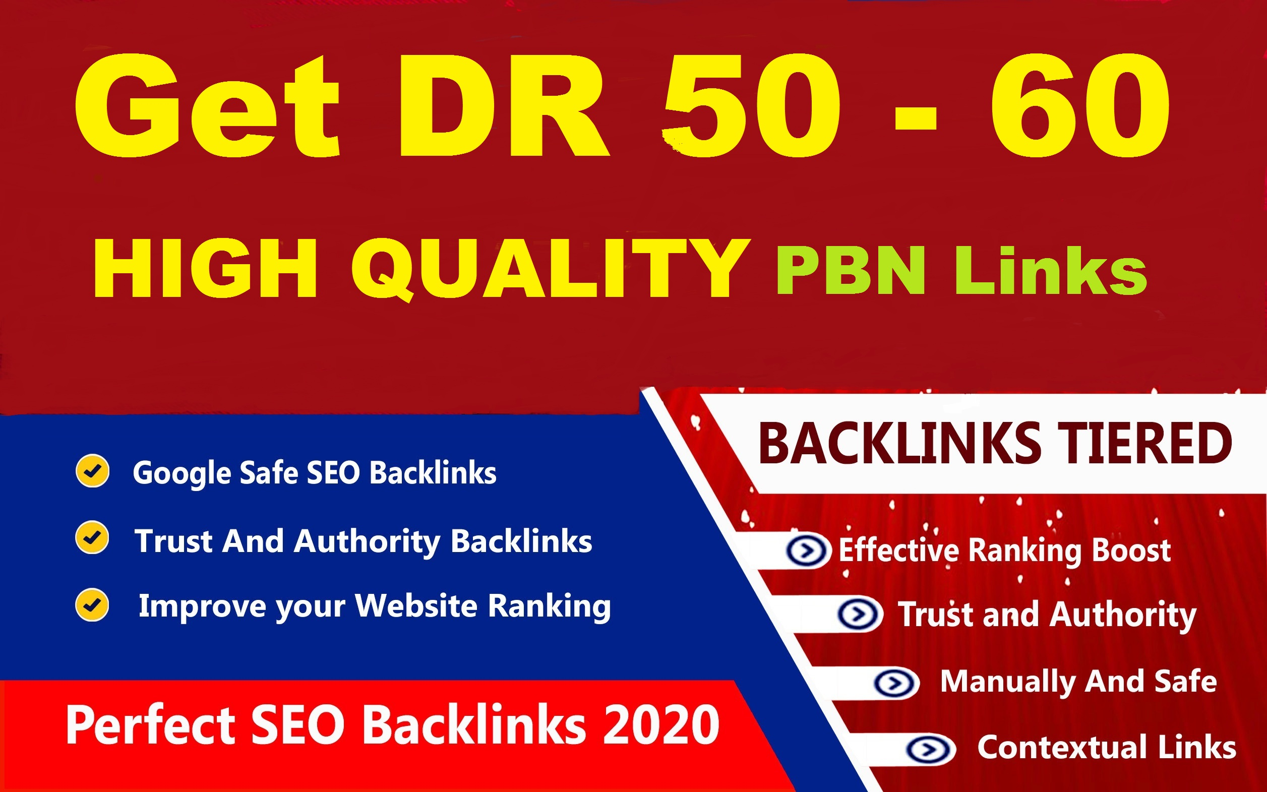 15 DR 50 to 60 homepage high quality pbn backlinks
