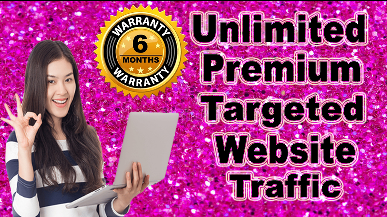 Unlimited USA Keyword Targeted Google,  Social traffic for 6 Months
