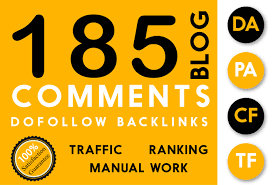 Do 185 High Pa Da Dofollow Blog Comment Dofollow Backlink Manually