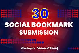 I Will provide 30 Social Bookmark hgh authority backlinks