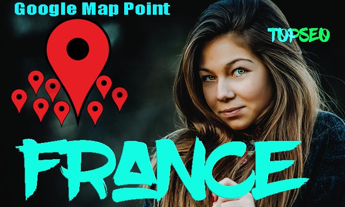 Franch 1600 google point map citation with high da citations for local SEO