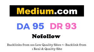 Guest Post on Medium. com with DA 95 Permanent Post