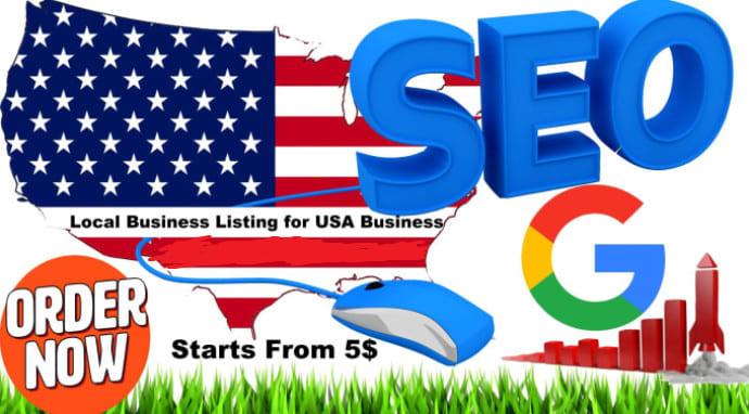 I will do 50 usa business directory citations for local seo