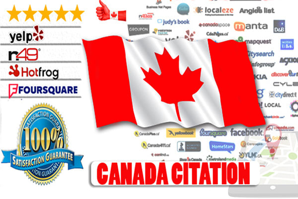 I will do best 32 canada local SEO citations