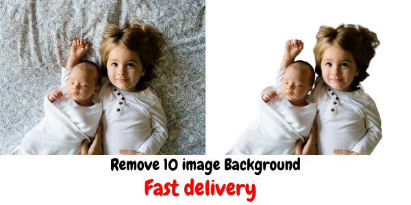 i will Remove 10 image Background or changing without any quality loss