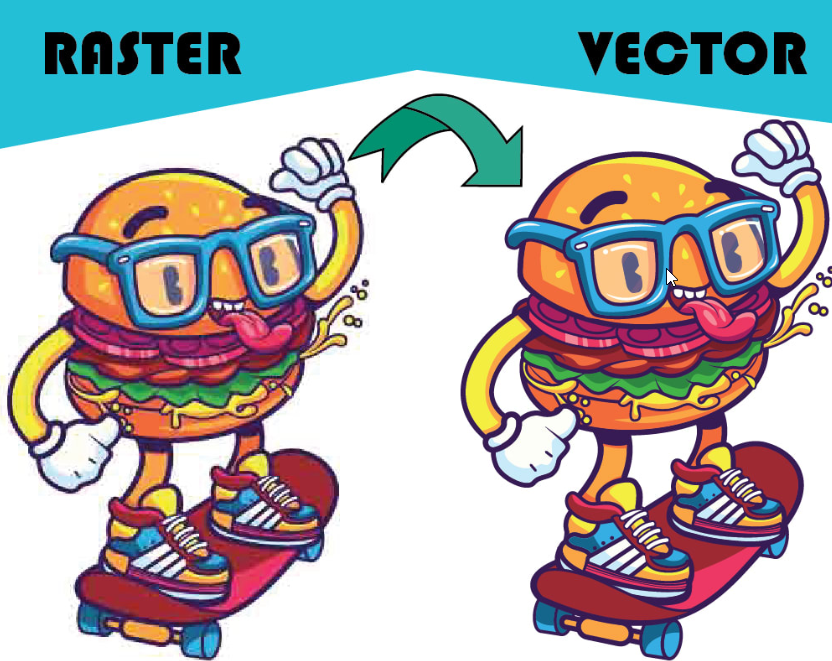 I Will Manually Vector Trace Images,  JPG to Vector