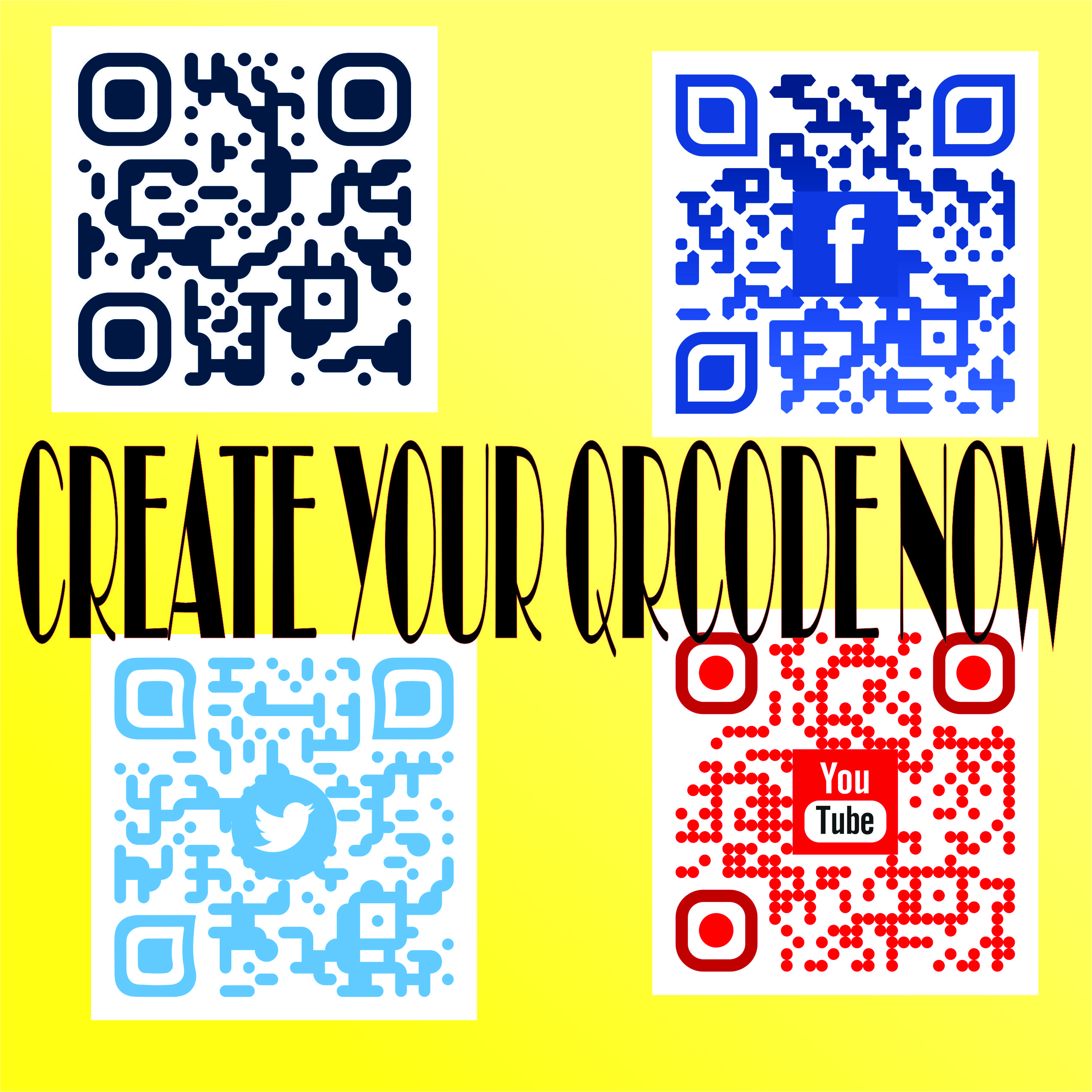 create your qrcode with the logo in 24 hours