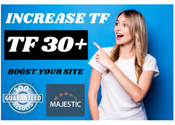 Increase Website Trust Flow 30 Plus with SEO Dofollow Backlinks