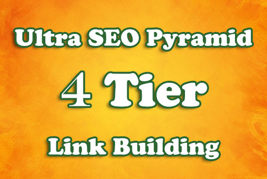 1200 Link Pyramid Backlinks with Tier 1 and Tier 2 Backlinks