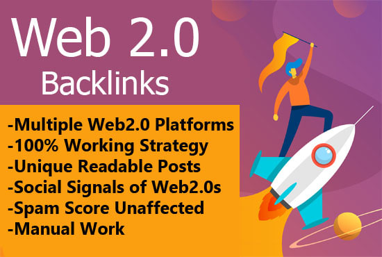 I will build 200 web 2.0 High DA Backlinks in 24 hours web2.0 backlinks web 20