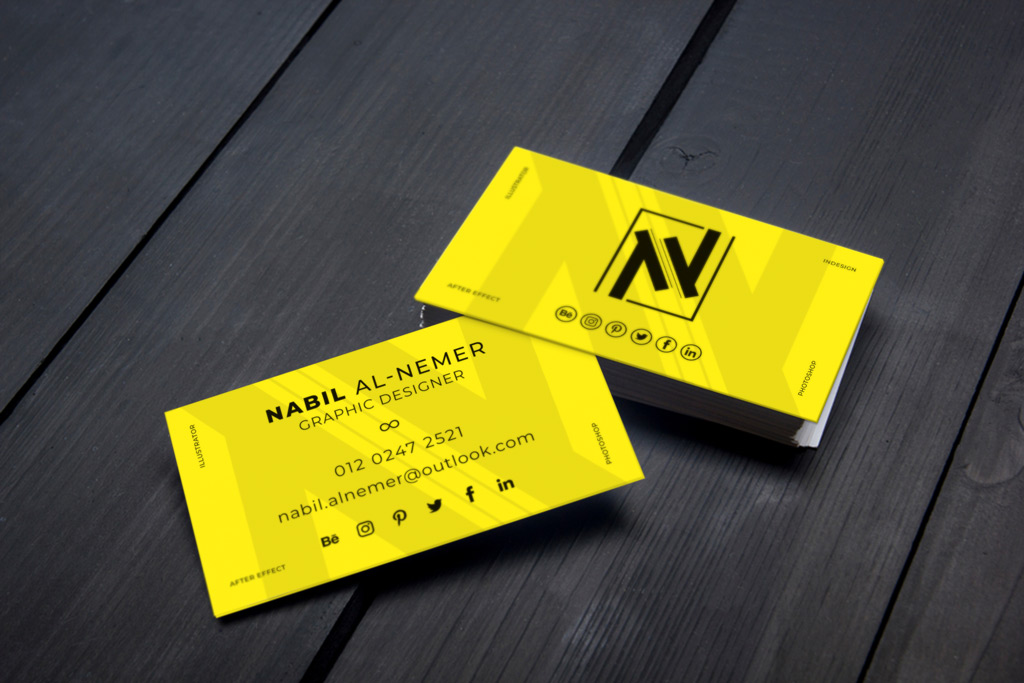 Creating custom business cards