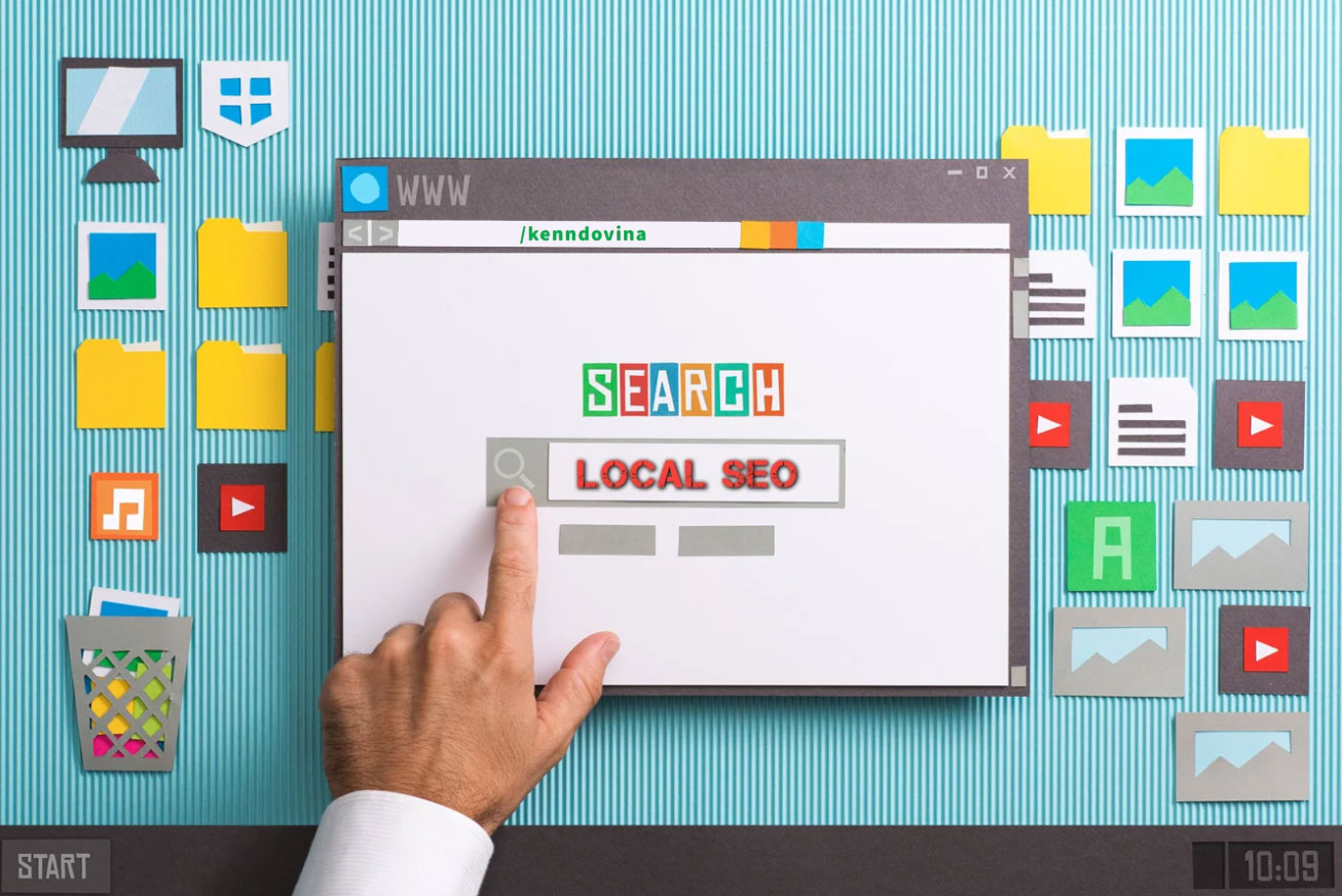 local SEO for your business,  appear on google maps