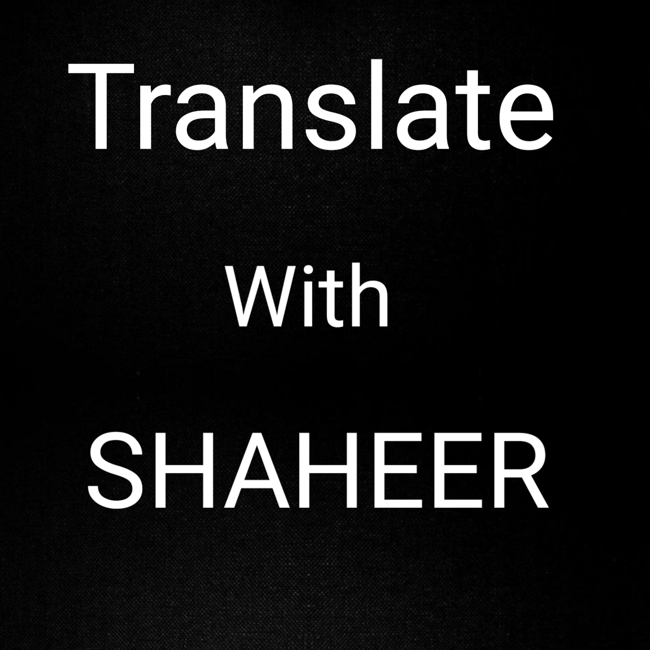 I will Translate Any of your Article from English to Urdu and vice versa