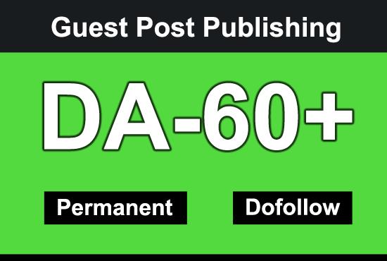 I will Guest Post on high DA 60 plus News blog