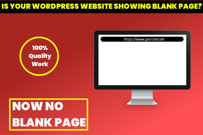 Fix wordpress blank page issue or other bugs